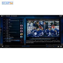 Scaptv---Just for nordic people, include danish package, swedish/norwegian/finland/english package 1 month subscription