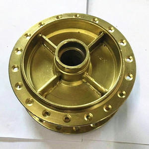 Philippine Iron electroplating XRM motorcycle aluminum alloy rear wheel hub assembly