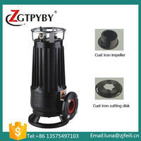 National sewage pump cutting submassible pump