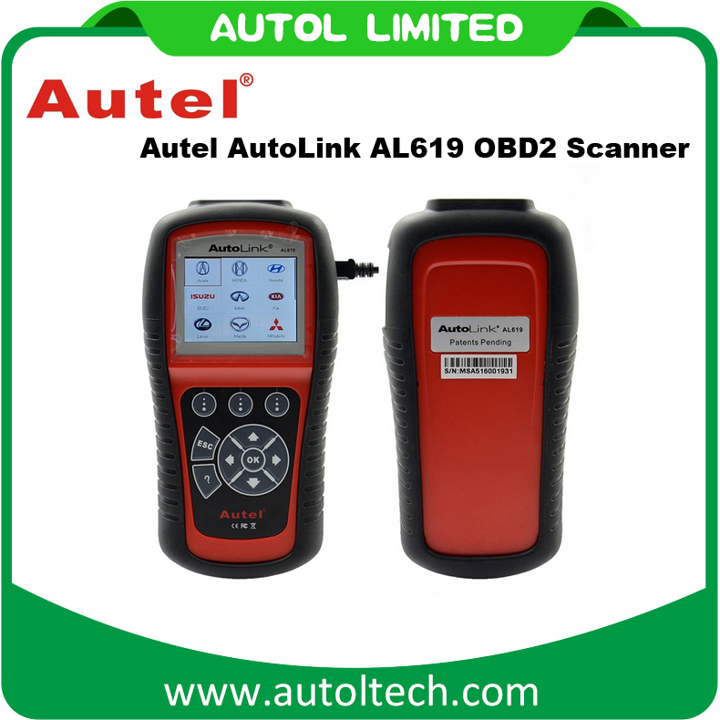 Autel Universal Car Diagnostic Scanner Main Test Cable For AUTEL AL619 Car Diagnostic Tool Auto Code Reader Scanner