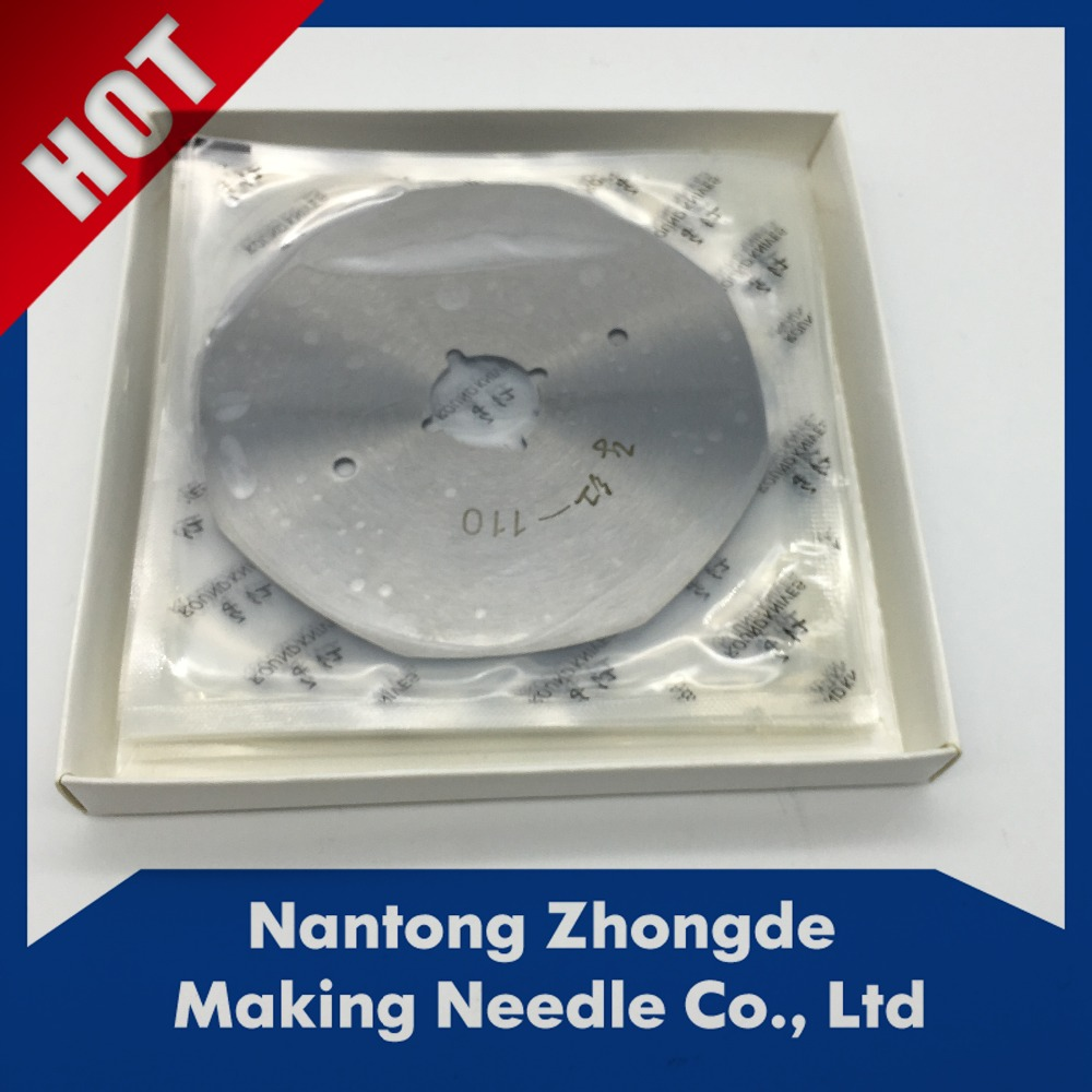 High quality round blade for cloth machine/cutting blade for paper/cutting blade for the splitting machine