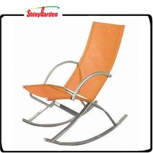 Stylish Sling Folding Recliner Beach Rocking Chair