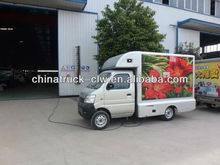 mini LED advertising van truck