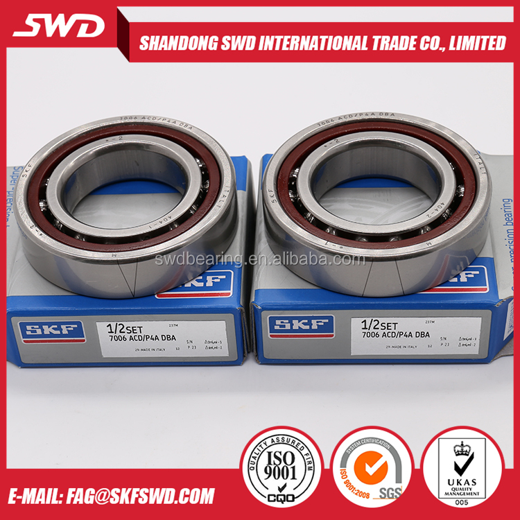 high precision Si3N4 hybrid skf ceramic ball bearing