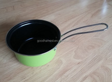 mini milk pan with stainless steel handle