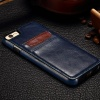 P8 Soft TPU Cover For Huawei P8 Case Phone Shell New Arrive Crazy Horse Genuine Leather With Card Holder