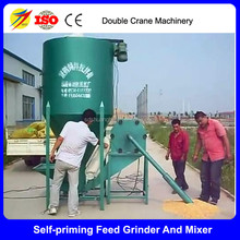 Simple type self-suction chicken feed grinder, poultry feed formulation, small poultry feed mill