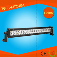 2015 new arrival double row led bar 120W offroad light bar 20 inch 12v waterproof led light bar offroad
