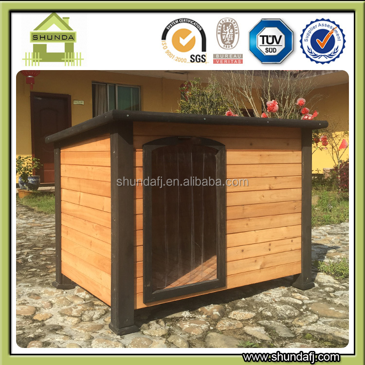 SDD07 modular unique wooden dog house made in China