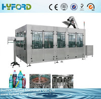 PET bottle carbonated drink filling machine soda water making machine