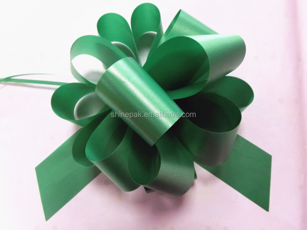 gift wrapping pp pull string ribbon bow