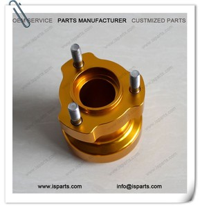 25mm Bore 62mm Height Gold Rear Wheel Hub For Go kart