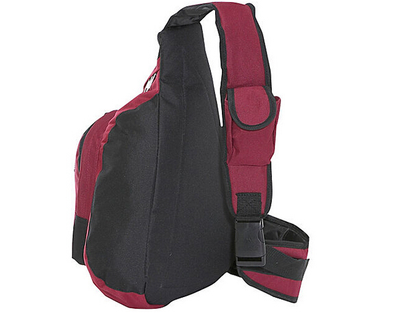 New fashionable high quality sporty laptop sling bag with detachable cell phone holder
