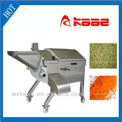 Automatic Fruit and vegetable cutting machine for cube and slicer