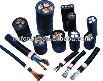Hebei NBF Heavy Type Silicon Rubber Insulated and Sheathed Flexible Cable
