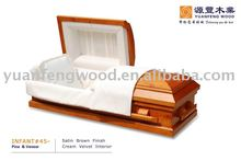 INFANT/BABY#45 wood funeral coffin with fair price