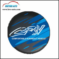Hot sell good quality 15-17 inch PVC PU leather spare wheel cover