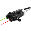 Rifle m16 green laser sight and red laser combo
