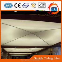 comfortable stretch ceiling material reinforced pvc membrane