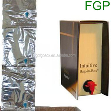 Best price with top grade for cardboard box palm oil bag in box made in China
