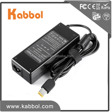 ac adapter 20v 4.5a universal adapter 90w NoteBook Battery Charger with Square USB Tip for Lenovo computers