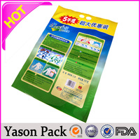 YASON permanent printing on plastic liquid shampoo plastic packing film plastic carry bags with price