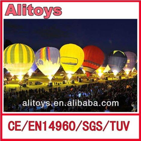 colorful inflatable led lighting star / led inflatable / party decoration wedding led light balloon