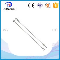 Power grounding hardware accessories FL FLP type anchor rod for Pole line fittings