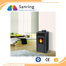 popular 9 KW easy to use wood burning pellet stove for Chile