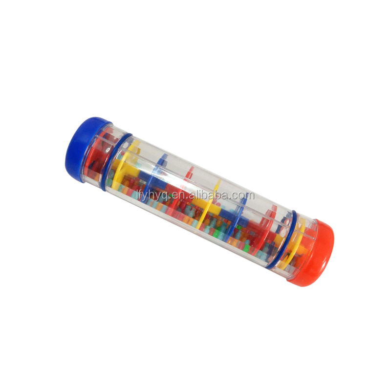 popular plastic toy children plastic rainmaker shaker