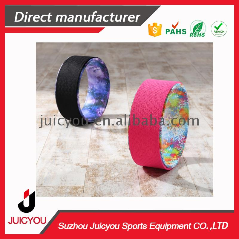 2017 hot style magic yoga wheel Best price high quality