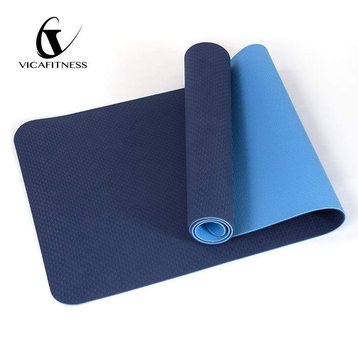 Best Eco Friendly TPE Yoga Mat With Strap