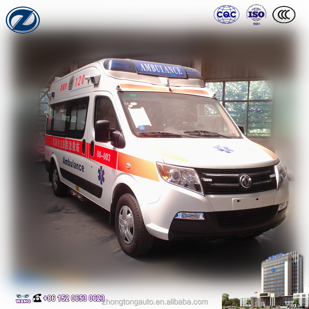 for emergency centers and hospitals, nursing and transporting ambulance, yufeng mini van