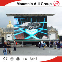 Physical pitch 20mm outdoor led display p20