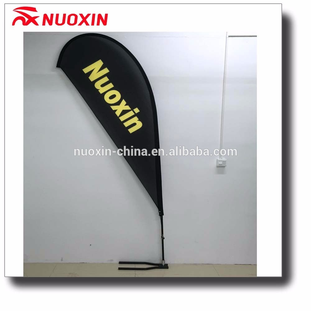 High quality trade show teardrop banner with aluminuium pole