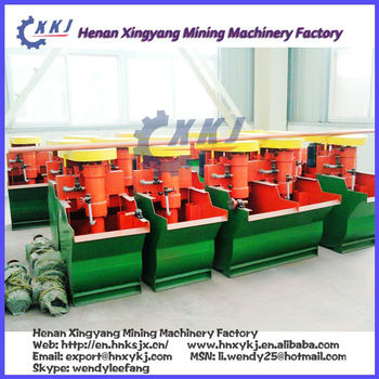 Flotation Machine /lab froth flotation machine in Mining Process