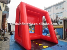 inflatable soccer shooting practice cage/ inflatable soccer shooting simulator/ inflatable soccer shoot game