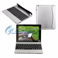 Ultra Slim Mini Bluetooth Wireless Keyboard , Alumnium Case Cover for iPad Air 5