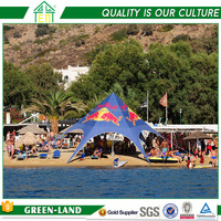 Professional garden gazebo canopy star tent for outdoor party