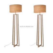 Modern LED Floor Lamp For Hotel, Cheap Wooden Hotel Floor Lamp Stand