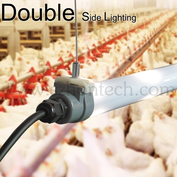 Chicken farm dimmable T8 tube light with SAA C-Tick approvrd for chicken farm lighting