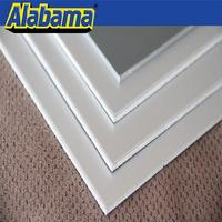 chinese OEM fireproof 3mm kitchen cabinet door decorative resin panels marble aluminum plastic composite panel