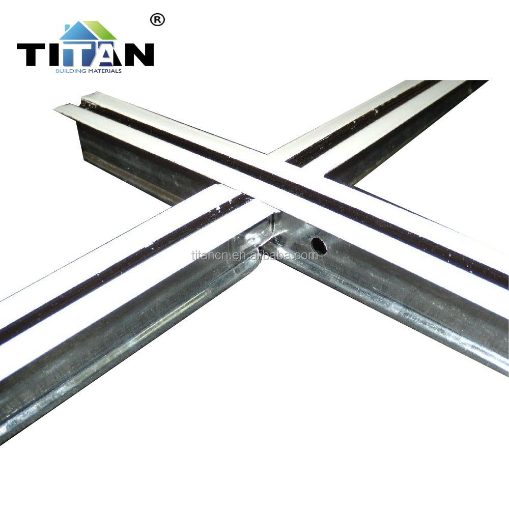 Flat T-grid Flat,Gypsum Ceiling Framing - Buy Flat T-grid,T-grid ...