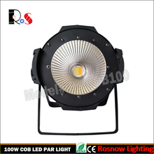 1pcs 100W RGBW 4 in 1 with barn door COB LED par can lighting