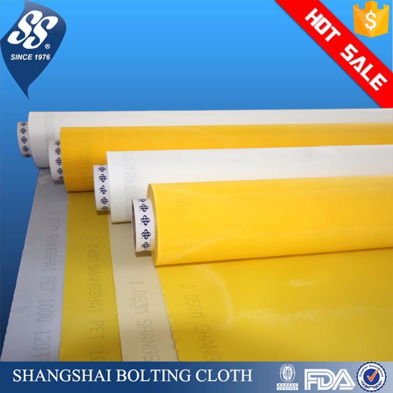 shangshai polyester monofilament screen printing mesh for screen printing