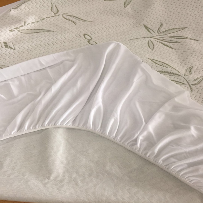 Quilted mattress cover waterproof mattress protector with elastic strap quilted mattress and covers - Jozy Mattress | Jozy.net
