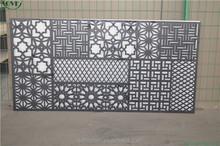 2017 new product paint free grille panels screen for interior and exterior divider