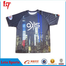 American New York Scene T Shirt/Promotional festival celebration christmas t shirts/sublimation sportswear apparel