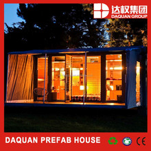 DAQUAN excellent design one side open folding container house