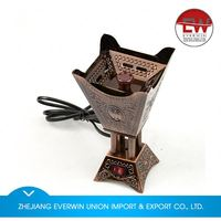 Factory supply special design flower antique incense burner in many style